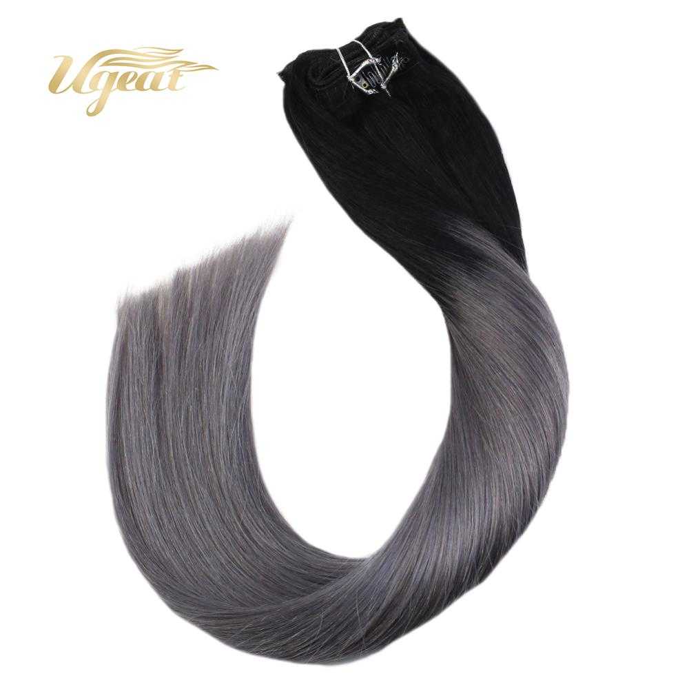 Ugeat  Clip In Hair Extensions Hair Pieces 14-24