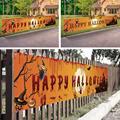 Открытый Хэллоуин баннер тянуть флаг украшения праздника подвесные украшения для вечеринки крыльцо фон поставки знаки складной M1I9
