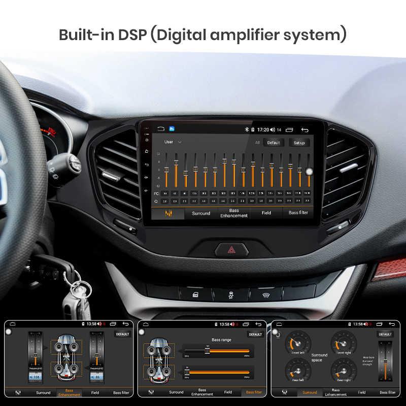 Junsun V1 Pro 4 64G Android 9.0 DSP untuk Lada Vesta 2015-2019 Mobil Radio Multimedia Video pemain Gps Navigasi 2 DIN Tidak Ada DVD Slot