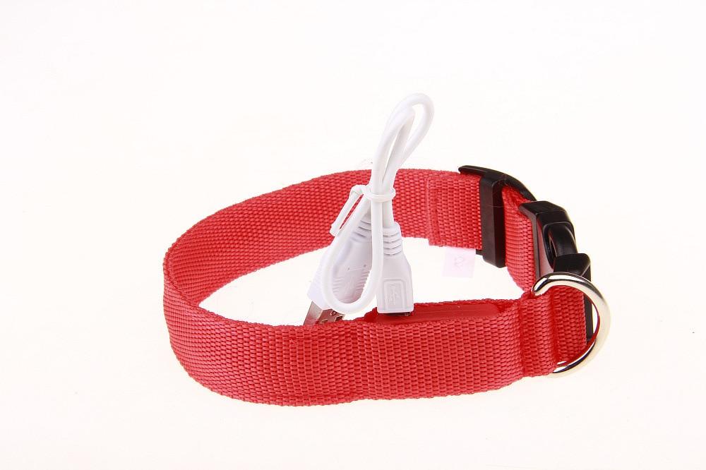 LED Strip Pet Dog Collar 7 PCs Color 4 PCs Specification Have Stock