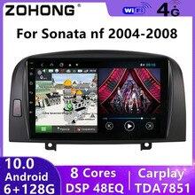 8 Core DSP 4G Android 10 Car Multimedia Video Player For Hyundai Sonata NF GPS Navigation Autoradio Car Radio Stereo Audio 2 Din