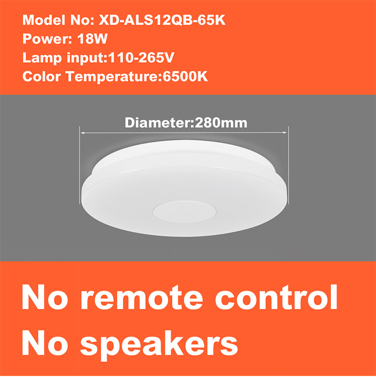 H20328932f58e43fc8c2a2a4e48767b25R Smart led ceiling Light RGB Dimmable 25W 36W 52W APP control Bluetooth & Music modern Led ceiling lamp living room/bedroom 220v