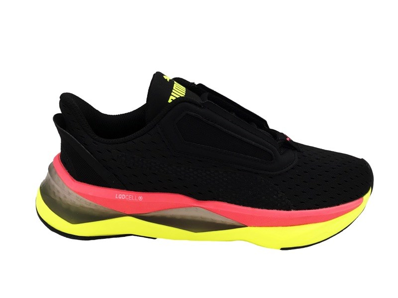 PUMA SNEAKERS klqd CELL SHATTER XT WNS black pink yellow ...