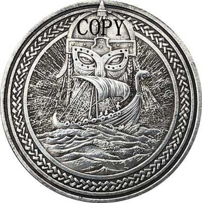 Hobo Nikkel Vs Morgan Dollar Munt Copy Type 172