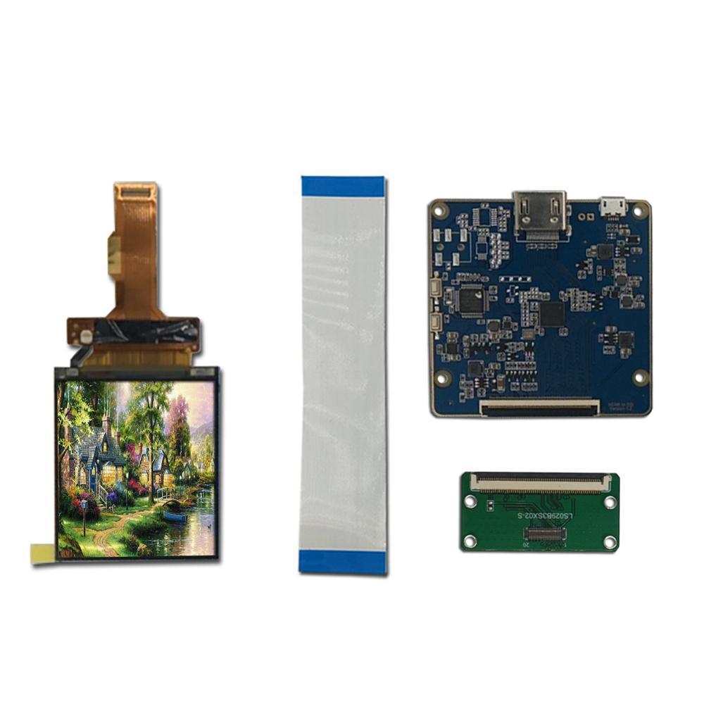 Плата контроллера LS029B3SX02 HDMI к MIPI 2,9 дюйма TFT ЖК-модуль 1440X1440 виртуальной реальности VR стеклянная панель дисплея HMD 40 Pins