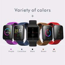 IP67 Waterproof Sport Fitness Watch Men Women Smartwatch 1.3 Inch HD Touch Screen Blood Pressure Heart Rate Monitor Smart Watch(China)