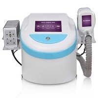 5 in 1 body slimming cryolipolysis machine cavitation RF body and face lifting / Cryolipolysis Fat Freezing Machine