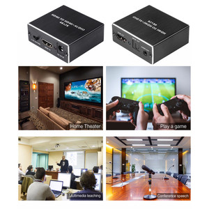 Image 5 - KEBIDU 4 K x 2 K HDMI אודיו extractor + אופטי TOSLINK SPDIF + 3.5mm סטריאו אודיו Extractor ממיר HDMI אודיו ספליטר