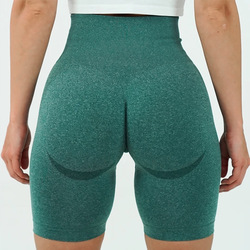 Vital бесшовные спортивные короткие женские летние обтягивающие леггинсы с высокой талией для спортзала облегающие утягивающие женские шорт...