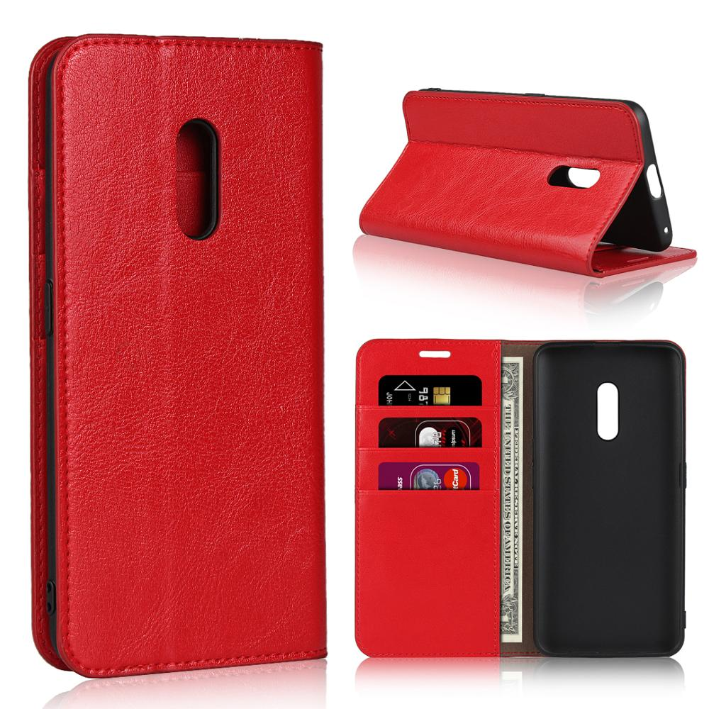 Genuine Leather Wallet <font><b>Phone</b></font> <font><b>Cases</b></font> Coque for <font><b>OPPO</b></font> <font><b>F1</b></font> F1S F1A A39 A57 A59M A3 Slim Business Book <font><b>Cases</b></font> Cover For <font><b>OPPO</b></font> realme X image