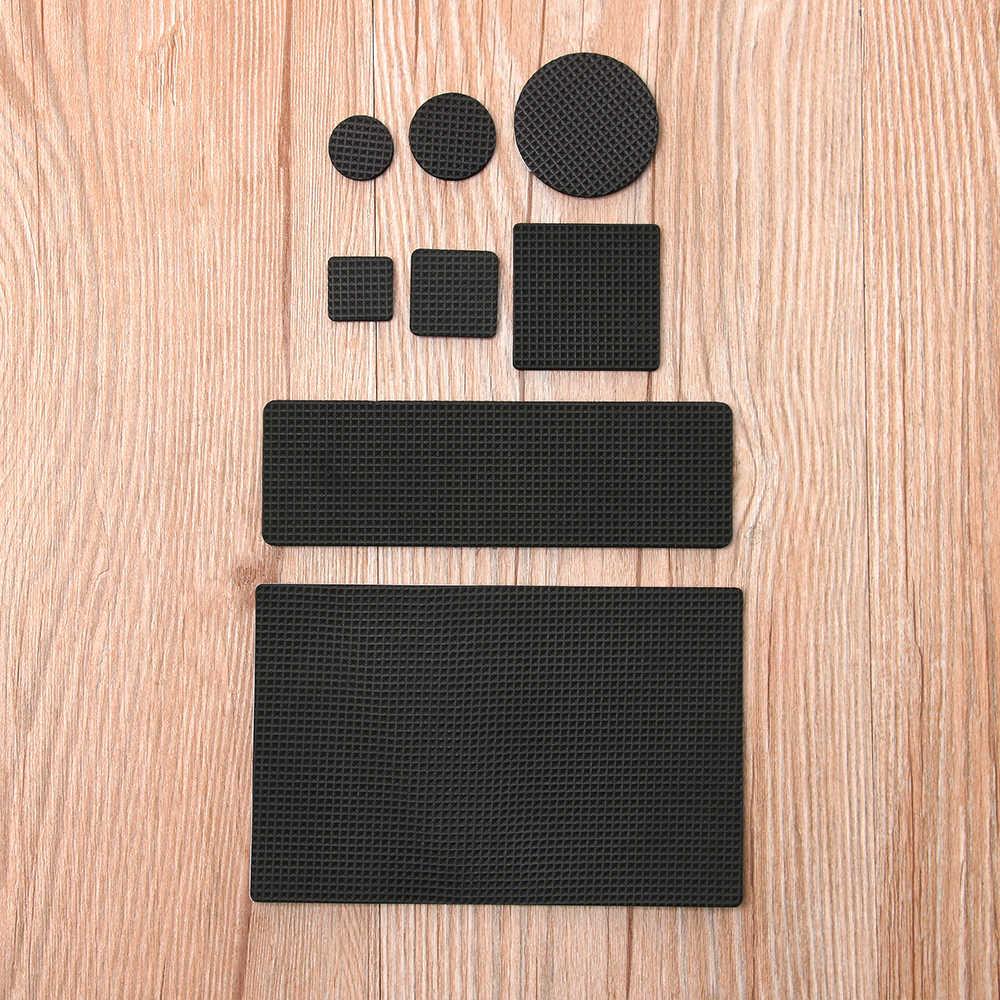 Möbel Bein Pads Selbst-adhesive Geometrische Form Anti-rutsch-matte Anti Laut Boden Protector Stuhl Armaturen Home Living zubehör