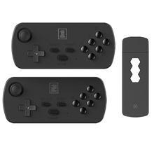 Mini console de jogo da tevê de hdmi, console de jogo dobro sem fio de alta definição, para presentes das crianças