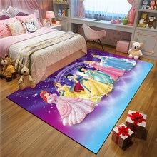 Принцесса набор кухонных ковриков стойкий длинный ковровый Коврик