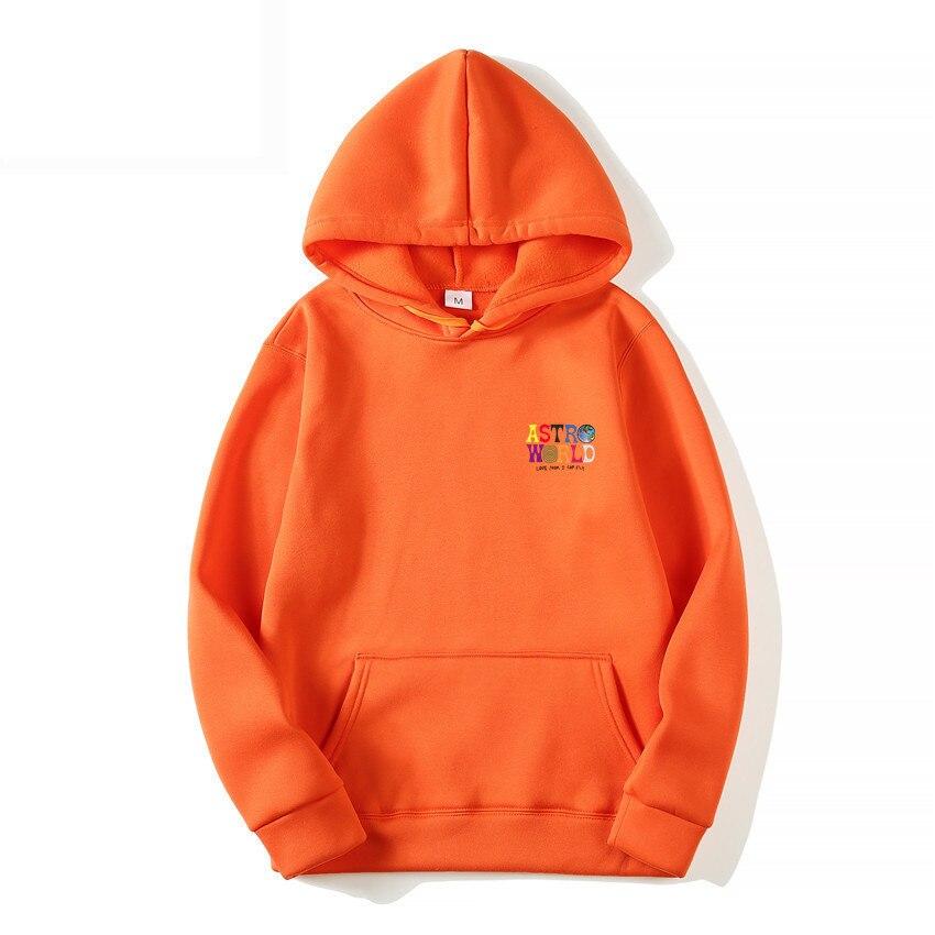 Man Woman Pullover Sweatshirt TRAVIS SCOTT ASTROWORLD WISH YOU WERE HERE HOODIES Fashion Letter ASTROWORLD HOODIE Streetwear