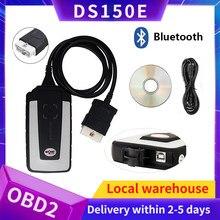 WOW v5.008 R2 белобочка 2020 Bluetooth ds150e obd2 сканер Авто инструменту диагностики ЕС склад грузовой автомобиль + 8 шт. кабели