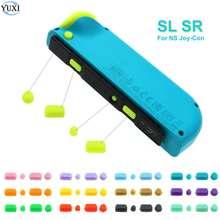 YuXi pour interrupteur nintention NS NX Joy-Con côté SR SL clé déclencheur bouton remplacement réparation partie jeu accessoires pour Joy Con