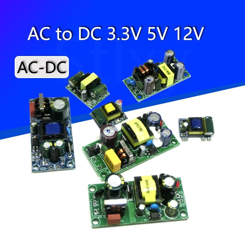 AC-DC прецизионный понижающий преобразователь 3,3 В/5 В/12 В переменного тока 220 В в 5 В постоянного тока, понижающий трансформатор, модуль питания...