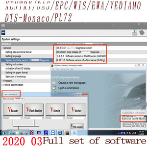 Image 2 - Newest Comprehensive 2020.09 MB STAR  C4 C5 6 VCI  full Software XENTRYSCN/DASEPC/WIS/Starfinder/EWA/VEDIAMO/DTS Monaco HDD/SSD