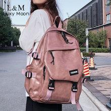 Женский рюкзак из искусственной кожи многофункциональные сумки