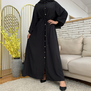 Aid Mubarek Muslim Fashion Dubai Abaya Turkey Hijab Summer Dress Kaftan Caftan Islam Clothing For