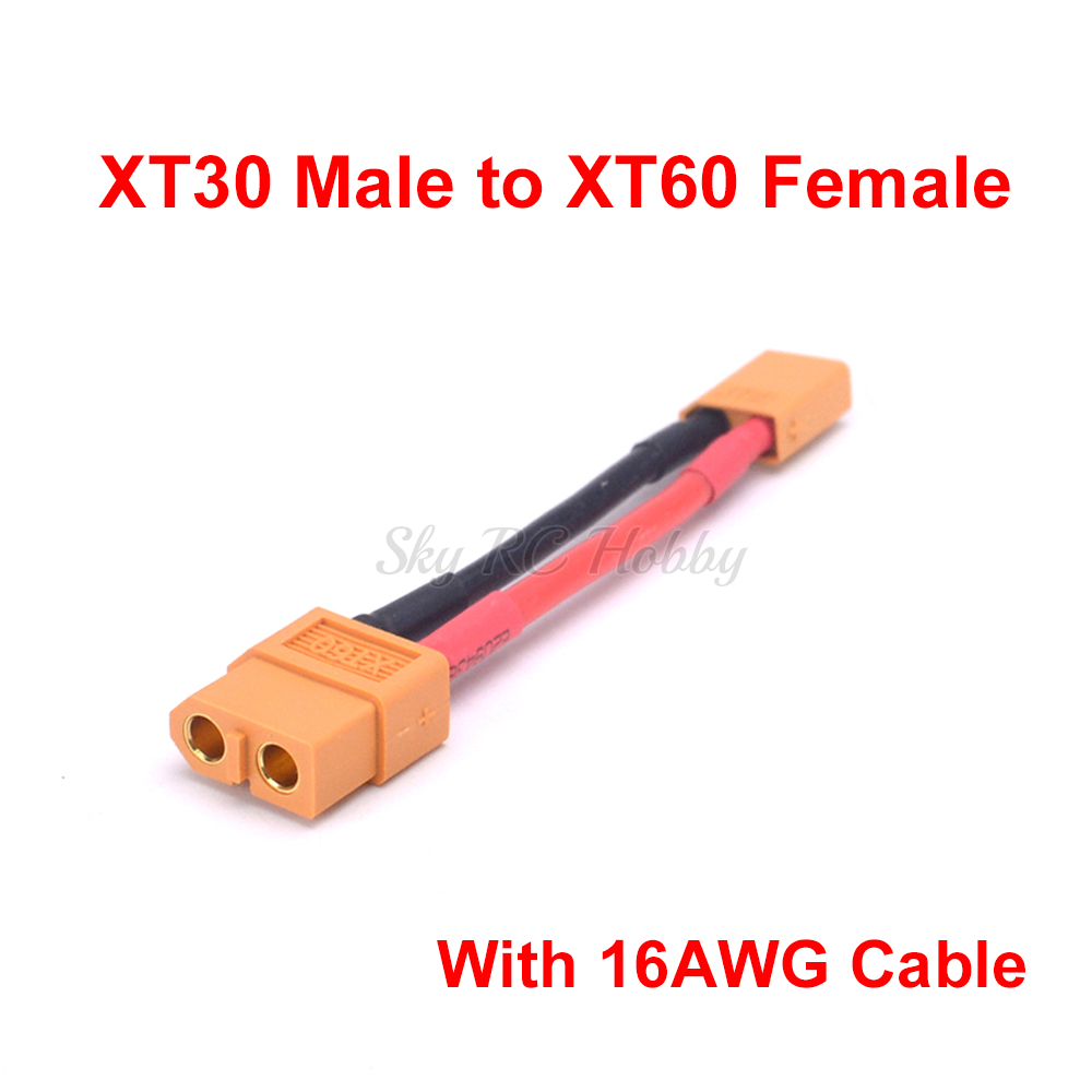 EC3 to XT60 14AWG 5CM Wire For rc quadcopter helicopter airplane Turnigy