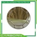 Для Silverado/Tahoe/Suburban/Yukon/Sierra/Escalade 2002 2003 2004 2005 2006 Stick on Type 304 нержавеющая сталь крышка топливной двери