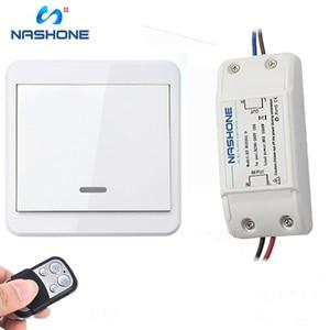 Image 3 - Interruptor de controle remoto da luz da lâmpada do interruptor 90 433 v do rf 260 hz wirelessremote no receptor fora da parede do fio (vendido separadamente)