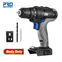 35NM Mini Electric Drill Screwdriver Cordless 20V Screwdriver Household DIY Body Only By PROSTORMER