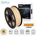 SUNLU древесного волокна PLA 3d волоконного принтера 1 75 мм/3 00 мм Вес нетто: 1 кг 2.2LBS полудня-токсичные Пластик древесного волокна 3d принтер матери...