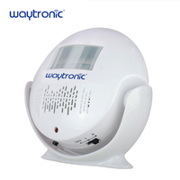 Battery Powered Direction Sensing Human Body Welcome Doorbell Alarm Motion Sensor with Sound