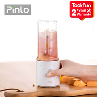 New Pinlo Blender Electric Kitchen Juicer Mixer Portable food processor charging using quick juicing cut off power Fruit Cup 1