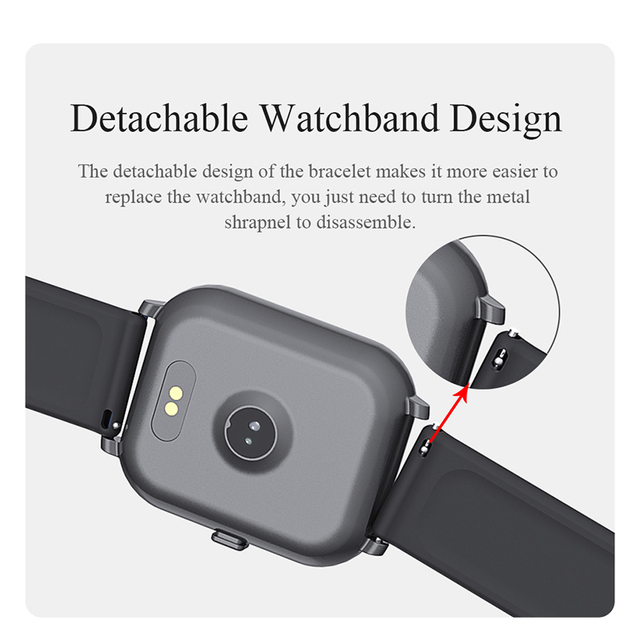 Smart Watch Men Watch Women Blood Pressure Waterproof Fitness Watch Heart Rate Monitor Sport Smartwatch For Android ios Phone