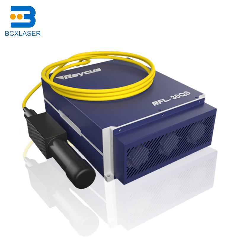 500w Raycus Fiber Laser Source For Laser Marking Machine Cutting The Stainless Steel And Carbon Steel