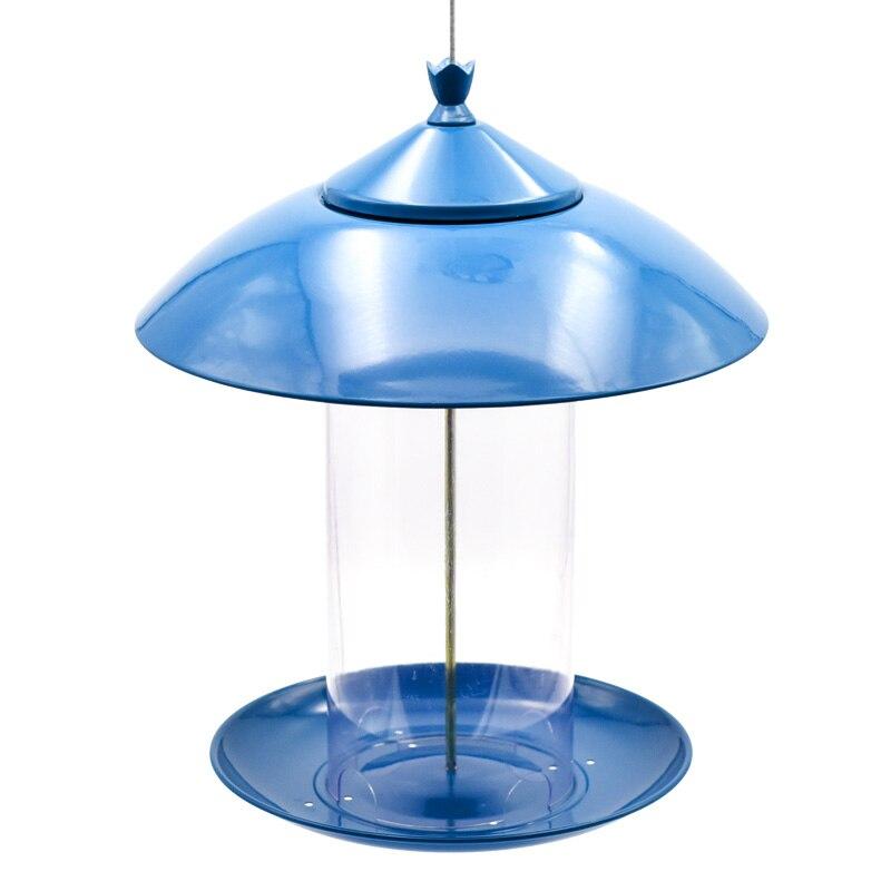 Mangeoire pour oiseaux en métal en plein air parc villa jardin oiseau sauvage fournitures balcon oiseau alimentation fontaine à boire LL10281545