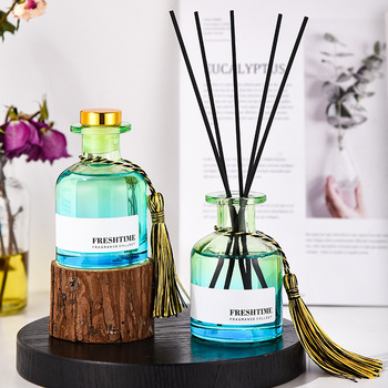 100ml Exquisite Aromatherapy Essential Oil Set Reed Oil Diffusers with Fiber Sticks  2