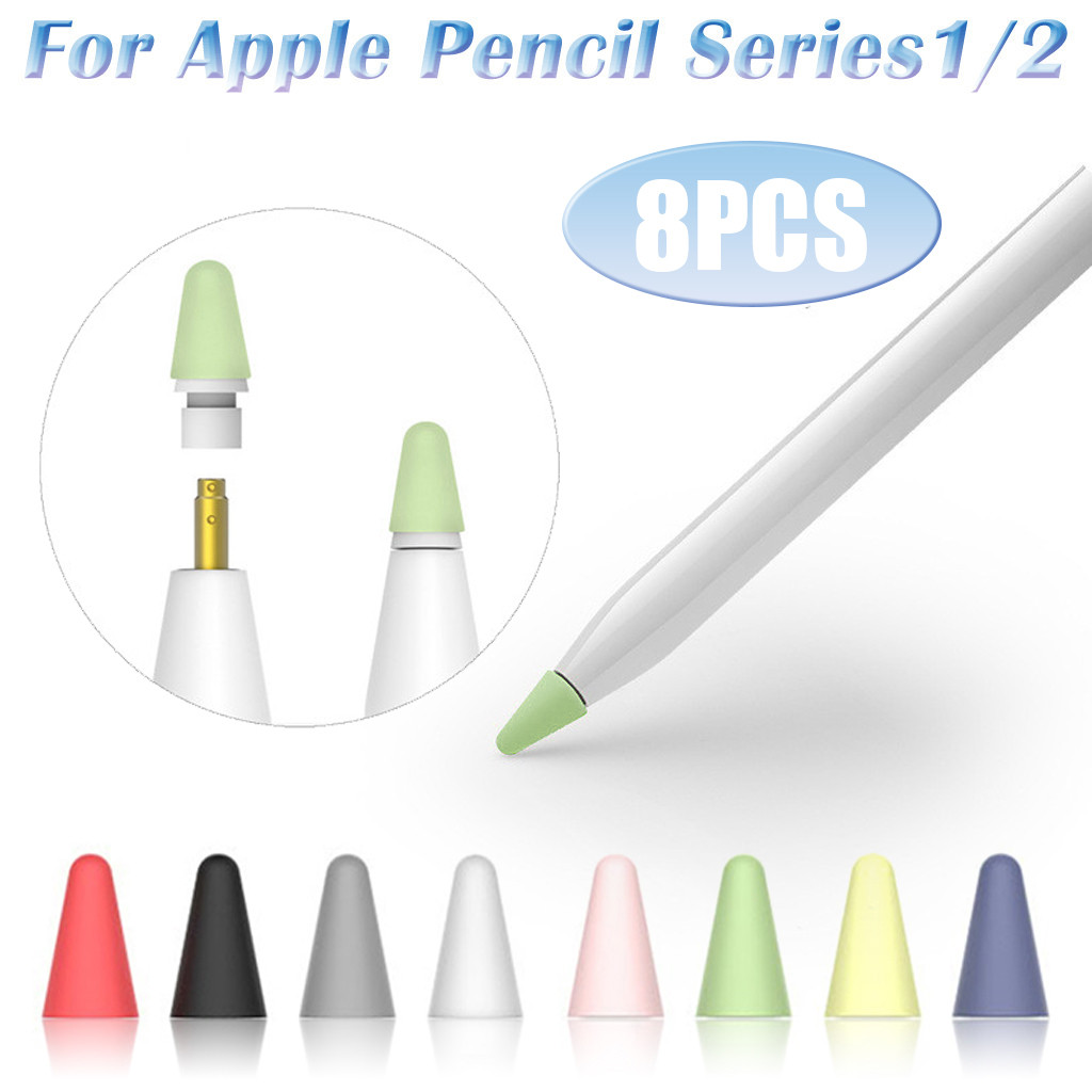 Nibs for Apple Pencil Tips Replacement iPencil Accessory for iPad Pro White
