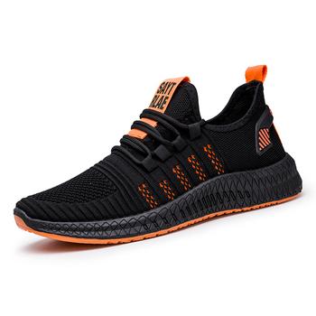Zaprojektowane 2020 męskie obuwie oddychające siatkowe trampki wygodne obuwie spacerowe męskie buty do biegania sportowe WIENJEE lato nowe tanie i dobre opinie Aktywny Stabilność Odkryty lawn Początkujący Dla dorosłych Mesh Średnie (b m) Niskie men shoes Bezpłatne elastyczne