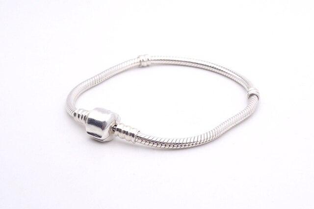 LMNZB 100% Original 925 Sterling Silver Snake Chain Bangle & Bracelet With Silver Certificate 16-23CM Bracelet for Women LFH005 2