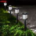 Солнечные фонари для газона IP68, уличные водонепроницаемые садовые фонари для дорожек, ландшафта, двора, подъездной дорожки