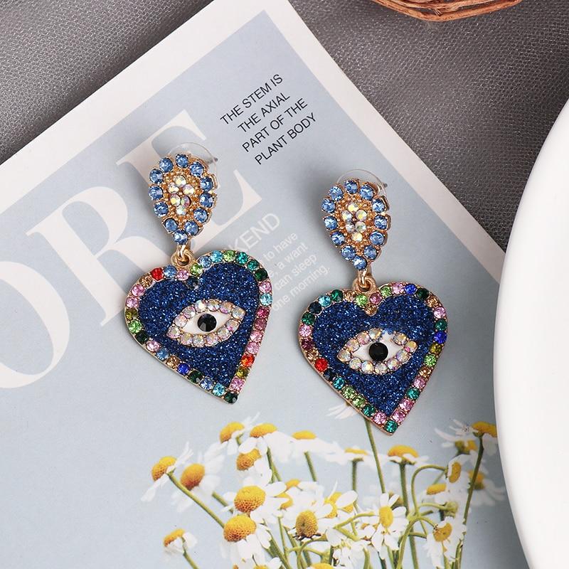 Best Evil Eye Earrings For Women 5