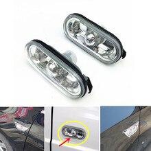 лучшая цена 2Pcs Car Turn Signal Light Both Side Marker Warining Lamp For Passat B5 Bora Golf 4 Mk4 Polo Lupo Seat Leon Ibiza Arosa Alhambra