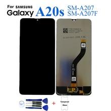 Для samsung A20s A207 SM-A207F дисплей ЖК-экран Замена для samsung A20s SM-A207F A2070 дисплей ЖК-экран модуль