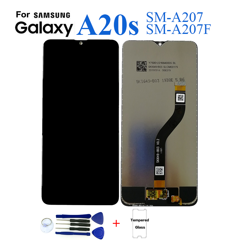 For Samsung A20s A207 SM-A207F Display lcd Screen replacement for Samsung A20s SM-A207F A2070 display lcd screen module