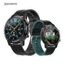 SENBONO 2021 S30 Smart Watch Men Women IP68 Waterproof Sports Clock Heart Rate Sleep Fitness Tracker Smartwatch for IOS Android