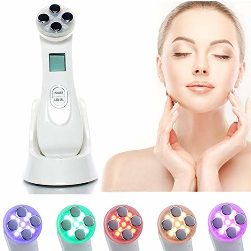 5in1 RF&EMS Radio Mesotherapy Electroporation Face Beauty Pen  Frequency LED Photon Face  Rejuvenation Remover Wrinkle