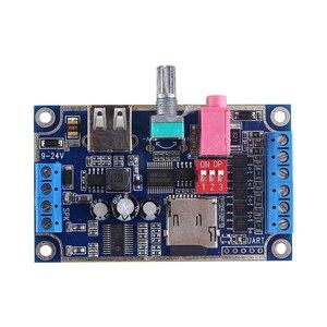 Image 2 - WAV MP3 音声モジュール 10 ワットサウンドプレイヤー DC 12 V 24 V プログラマブル制御サポート TF カード U  ディスク