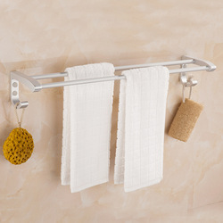 A Generation of Fat 8772 New Style with Hook Towel Rack Double Poles Toilet Bathroom 70 80 Cm