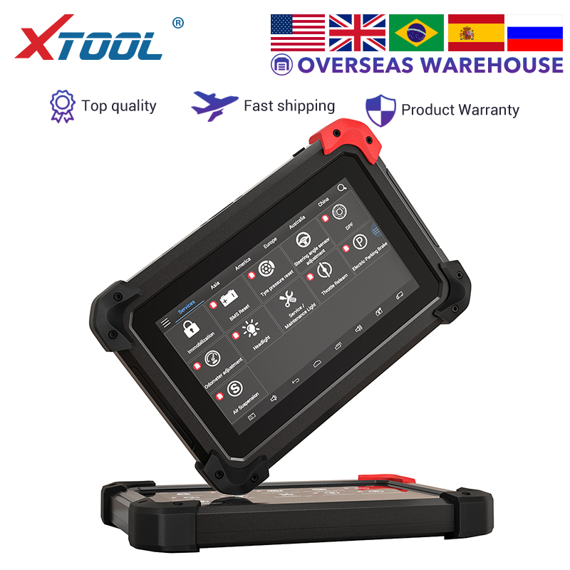 XTOOL EZ400 PRO car Professional ferramenta de diagnóstico Auto Scanner Leitor de Código de programador chave OBD2 ajuste odômetro Atualização online