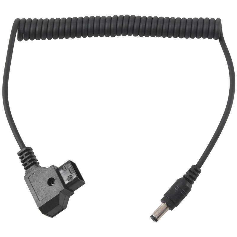 D-Tap DC Спиральный кабель для DSLR Rig источник питания V-mount Anton Bauer батарея WY18