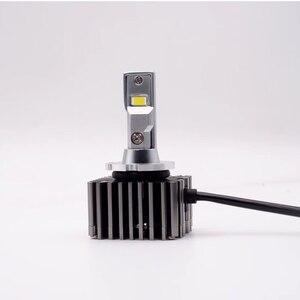 Светодиодные лампы для автомобильных фар, без ошибок, canbus, D1S, D1R, D3S, D3R, D2S, D2R, D4S, D4R, D5S, D8S, 100 Вт, для всех автомобилей